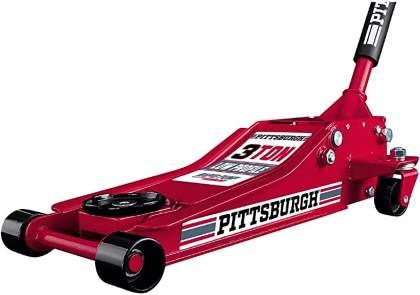 Pittsburgh Automotive 3-Ton Heavy Duty Ultra Low Profile Floor Jack