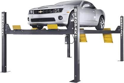 BendPak 4-Post Truck and Car Lift