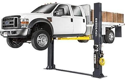 Bendpak XPR-12FDL 12,000 Lb. Floorplate Duty 2 Post Car Lift