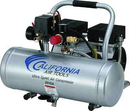 California Air Tools 2010A Ultra Quiet and Oil-Free 1.0 HP 2.0-Gallon