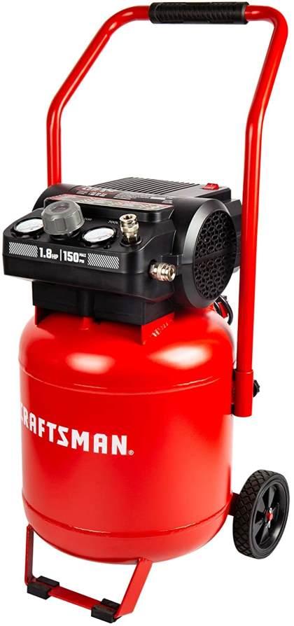 Craftsman Air Compressor, 10 Gallon Peak