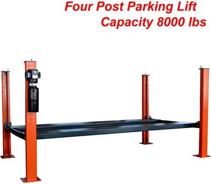 KATOOL AUTOKATO Four Post Parking Lift