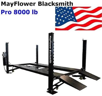 Mayflower Blacksmith Four Post Lift car Lift