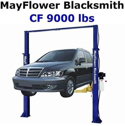 Mayflower Blacksmith Heavy Duty Clear Floor Two Post Lift