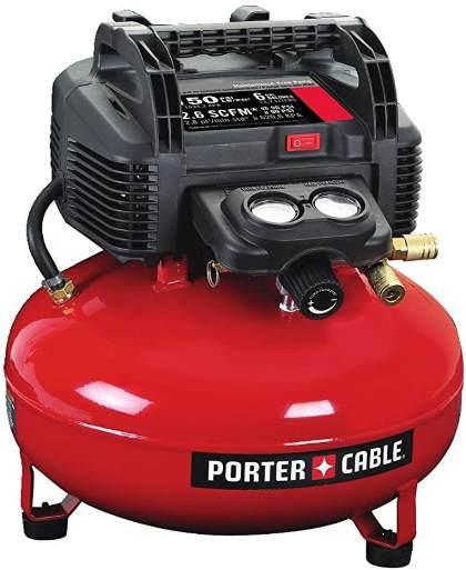 PORTER-CABLE Air Compressor, 6-Gallon