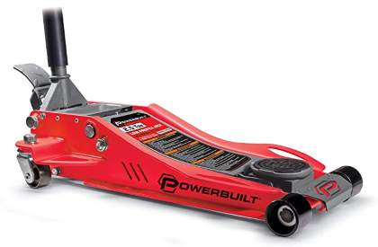 Powerbuilt 240076 Low Profile Fast Lift Floor Jack