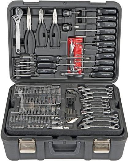 Professional 301 Piece Mechanic's Tool Kit