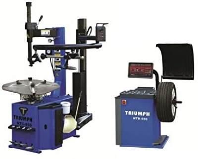 TRIUMPH NTC-950-1 NTB-550 Tire Changer Wheel Balancer Combo