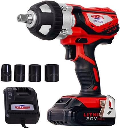 Dobetter DBCIW20 Cordless Impact Wrench