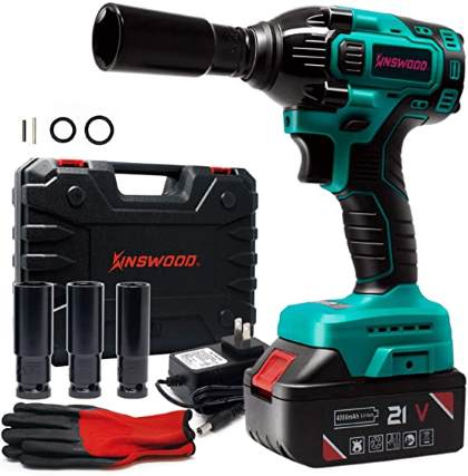 Kinswood Rechargeable Cordless Impact Wrench