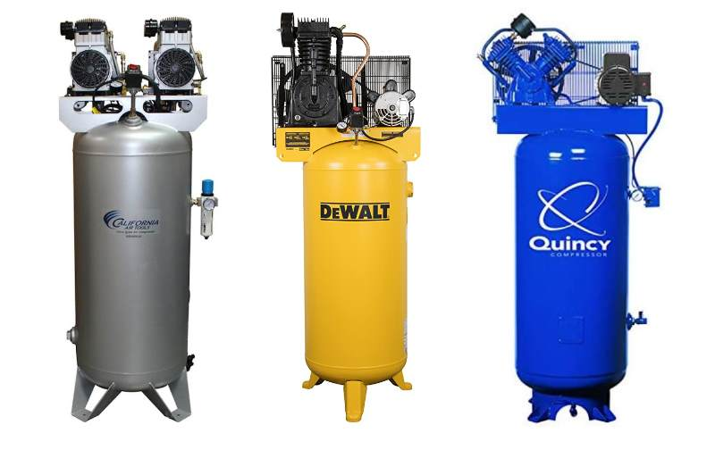 Best 60 gallon air compressor feature image