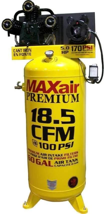 Maxair C5160V1-MAP 60-Gallon