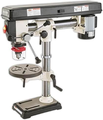 radial drill press image