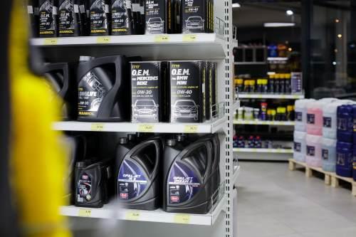 types of motor oil